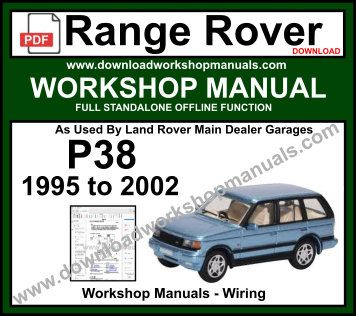 Range Rover P38 Workshop Service Repair Manual
